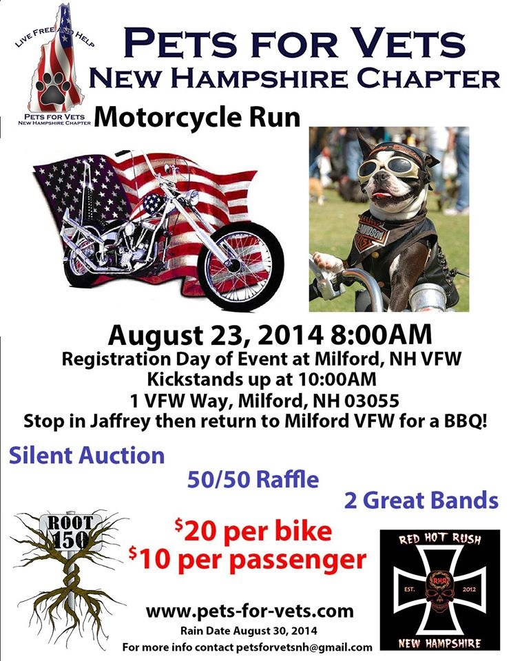 pets for vets ride flyer